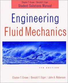 Fundamentals of fluid mechanics si version 9780470398814 bruce r download engineering fluid mechanics student solutions manual ebook free by array in pdfepub fandeluxe Images