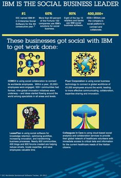 2013 Social Business Leader #infographic