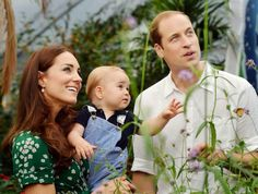 New Photos for Prince George's First Birthday