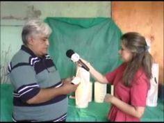 luminaria de pvc(entrevista à tv metrópole canal 26 fortaleza,ce,brasil-...