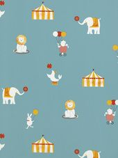 Contemporary designer wallpaper sourced from around the World by Paper Moon Kitsch, Paper Moon, Stickers, Designer Wallpaper, Kids Bedroom, Kids Rooms, Decoration, Baby Room, Print Patterns