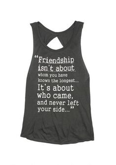 Friendship Quote Tank - from delias I want to get this for me and my bff