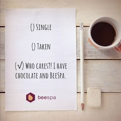 Single or taken, you deserve the softest skin from BeeSpa. #TreatYourself