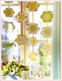 тысяча разных идей - Декор для Пасхи из бумаги.