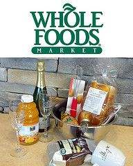 Breakfast in bed gift basket - perfect for Mother's Day. Thanks Whole Foods! #giveaway #BrunchWeek
