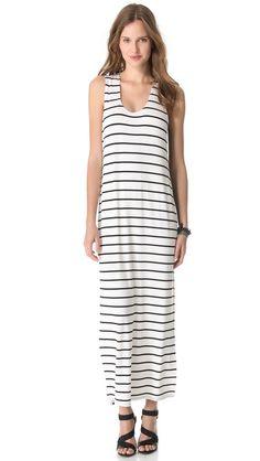 Totally Sylvia. Mason by Michelle Mason Tank Maxi Dress