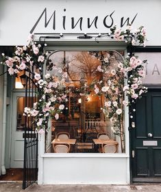 shop fronts 25 of Londons Most Buzz-Worthy Coffee Shops Coffee Shop Design, Cafe Design, Store Design, Shop Front Design, Coffee Shop Interior Design, Flower Shop Design, Design Shop, London Coffee Shop, Best Coffee Shop