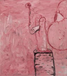 Philip Guston - Untitled (Smoking), 1979. Oil on canvas, 35 1/2 x 32 in. (90.2 x 81.3 cm). @ Sotheby's, New York. Estimate: 1,500,000 — 2,000,000  USD