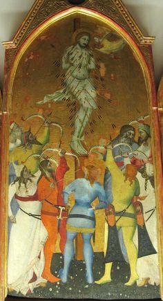 Giovanni del Biondo (attr.) - Trittico di San Sebastiano, dettaglio - 1375-1380 ca. - Museo dell'Opera del Duomo