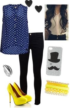 """Party! hacked :)"" by emily-corson ❤ liked on Polyvore"