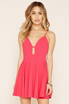 Crisscross Cami Mini Dress