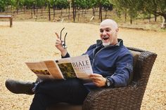 Pat, our Tasting Room Manager, is so excited to share what's going on at Robert Biale this fall! Our Fall Bulletin is on its way so don't forget to check it out and enjoy a glass of your favorite Biale! Tasting Room, Napa Valley, Harvest, Forget, Fall, Glass, Check, Autumn, Fall Season