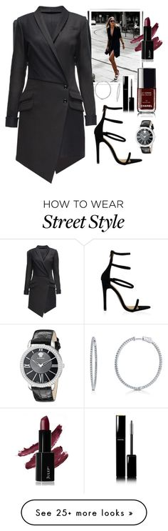 """tuxedo dress"" by msh820 on Polyvore featuring Versace, BERRICLE, Lattori and Chanel"