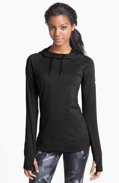 The older I get the sportier I get. I would love to have this #Nike 'Pro Hyperwarm' Hoodie #Nordstrom
