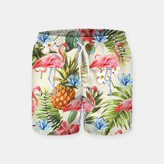 Swim Shorts, Badass, Live, Floral, Pants, Street Art, Bermudas, T Shirts, Hipster Stuff