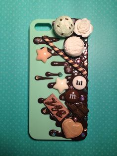 MADE to ORDER Mint Chip Chocolate Drizzle for by KreativeKoala