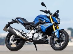 2016 BMW G 310 R in Strato Blue metallic