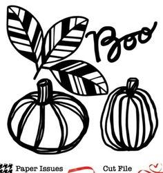 Boo Pumpkins-Free Cut File | Paper Issues