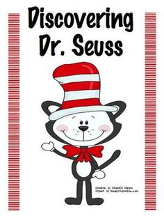 Free!!! Dr. Seuss unit & printables! Has a brief Dr. Seuss biography!
