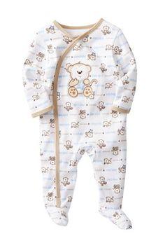 Monkey Footie (Baby Boys)