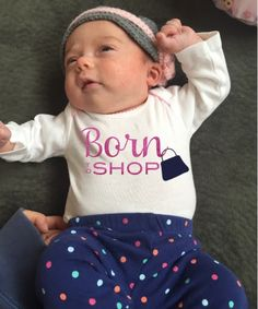 Free 'Born to Shop' Silhouette Studio Cut File ~ Silhouette School