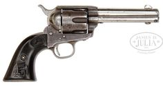 Butch Cassidy's Colt Quickdraw Model Single Action Army Revolver