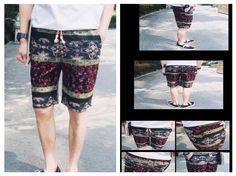 Newest 2016 Men Summer Slim Fit Shorts Fashion Mens Designer Shorts Printing Vetement Homme Pantalones Cortos De Los Hombres   For more Inquiries:  (248) 792-8169