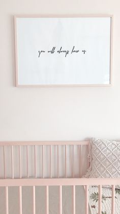ideas baby girl nursery quotes mom for 2019 Baby Bedroom, Baby Boy Rooms, Baby Cribs, Baby Room Art, Baby Girl Room Decor, Nursery Room Decor, Nursery Design, Girl Nursery, Baby Girl Quotes