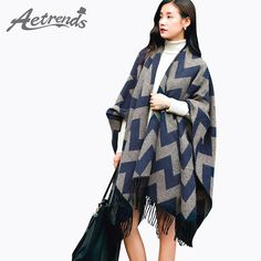 Warm Thicken Women Poncho Cape Winter Cashmere Shawls $26.69 => Save up to 60% and Free Shipping => Order Now! #fashion #woman #shop #diy www.scarfonline.n...