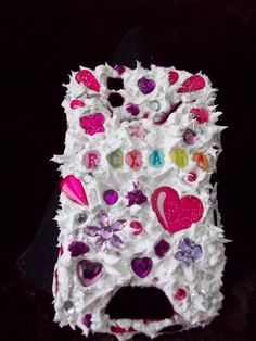 Bling your cell phone covers with this unique method let me know your cell phone model and I will bling it out for you roxanascreations on facebook or call 904-310-9248