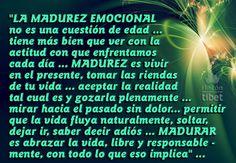 La madurez emocional…