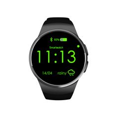 NFC Pulsmesser Smart Uhr KW18 SIM TF Smartwatch Android 2.5D OGS Touchscreen Smart Armbanduhr Bluetooth Facebook Buit //Price: $US $89.90 & FREE Shipping //     #meinesmartuhrende