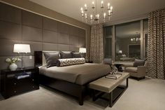 Upholstered walls  - Upholstered Walls for Sophisticated Glamour