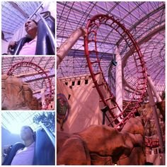 The Canyon at the Adventuredome in Las Vegas #TurquoiseCompass
