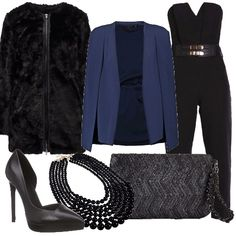 22d5dd253945 Moderna eleganza  outfit donna Chic per cerimonia e serata elegante ...