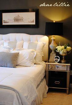 I like the idea of a bedroom like a high end hotel suite.