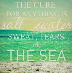 Discover and share Ocean Water Quotes. Explore our collection of motivational and famous quotes by authors you know and love. Sea Quotes, Water Quotes, Down Quotes, My Happy Place, Wise Words, Quotes To Live By, Things To Think About, The Cure, Surfing