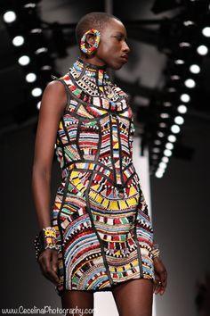 Catwalk downlow African influence