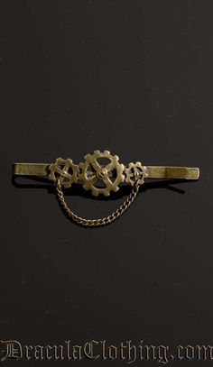 Steampunk Tie Clip  Well this is a must someday. #PunkRockGentleman
