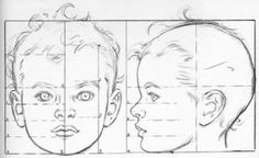 Purple Palette Magazine: Drawing Tips Sketches, Drawing People, Baby Drawing, Human Art, Drawings, Drawing Tutorial, Art, Art Tutorials, Face Proportions Drawing
