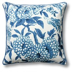 Chinoiserie Pillow Cover   C. Wonder