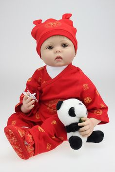 83.30$  Buy here - http://alin6o.worldwells.pw/go.php?t=32604922085 - New 22Inch Lifelike Reborn Baby Dolls for Sale Handmade Mini Baby Dolls Newborn Bebe Bonecas Kids Toy For Child brinquedos 83.30$