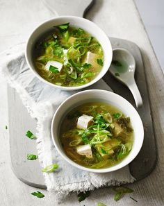 Vegan Miso Soup (This lovely and easy homemade vegan miso soup is subtly flavored with ginger, garlic, and scallions.)