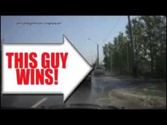 Road Rage Karma Both drivers of these cars are total jerks, but this is awesome!