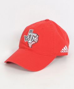 167a10ba714 Texas A M Aggies Adidas USA Lonestar Slouch Cap - ADJUSTABLE - HEADWEAR -  MENS
