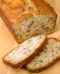 Banana Bread (using Pamela's flour mix) really easy!
