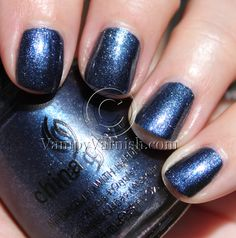 Midnight Mission is a navy blue with silver micro-glitter.