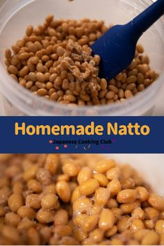 Homemade Natto #japanesefood #japanesecooking #japanesestyle #japanesecuisine #natto #healthy #easyrecipes #homemade Easy Japanese Recipes, Japanese Dishes, Japanese Food, Asian Recipes, Gourmet Recipes, How To Eat Better, Fermented Foods, International Recipes, Holiday Recipes