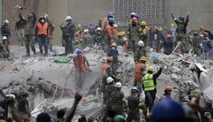 'Quiet' — Girl Heard In Rubble Of School In Mexico Earthquake Puts Rescuers In Frantic Mode