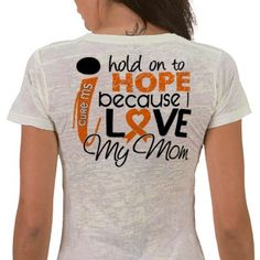 maybe a shirt for the MS walk :) or whenever